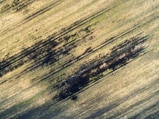 dronographica aerial imaging field art mark luftbilleder drone droner