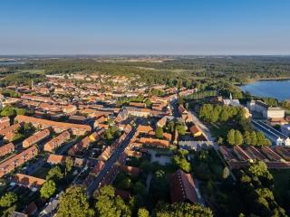 dronographica aerial imaging sorø akademi kostskole sorø sø storgade drone droner luftbilleder
