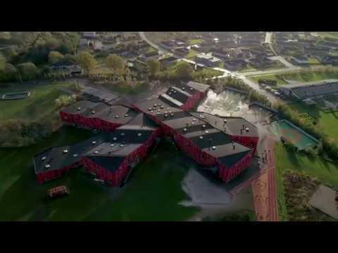 vestskolen dronevideo droneoptagelser lokale og anlægsfonden